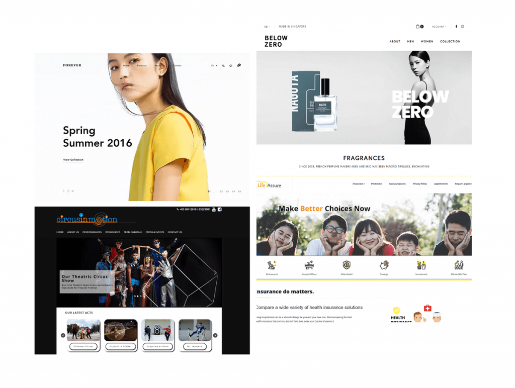 Website Singapore